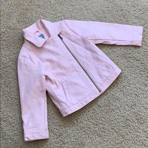 Little girl GAP moto jacket (size:4)
